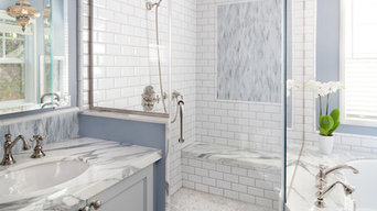 Shower at Master Bath