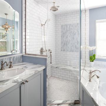 Shower at Master Bath