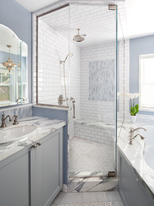 Subway Tile In Shower | Houzz