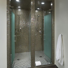 Eclectic Bathroom by Benvenuti and Stein