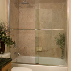 Traditional Bathroom by Coastal Shower Doors