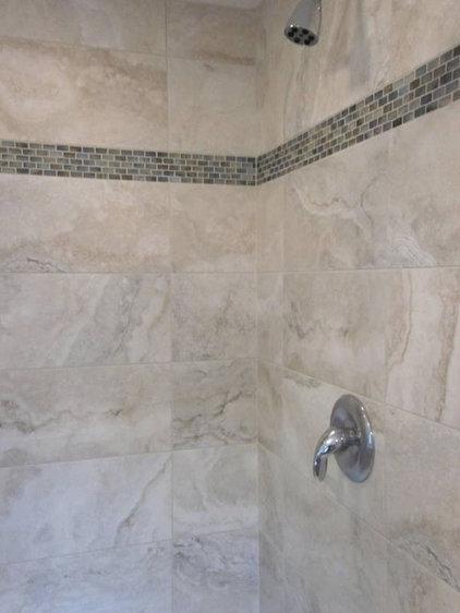 Contemporary Tile by Cook & Kozlak Flooring Center, Inc.