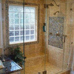 mediterranean bathroom by Bath Concepts Shower Enclosures Inc.