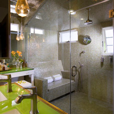 Eclectic Bathroom by Lori Dennis, ASID, LEED AP