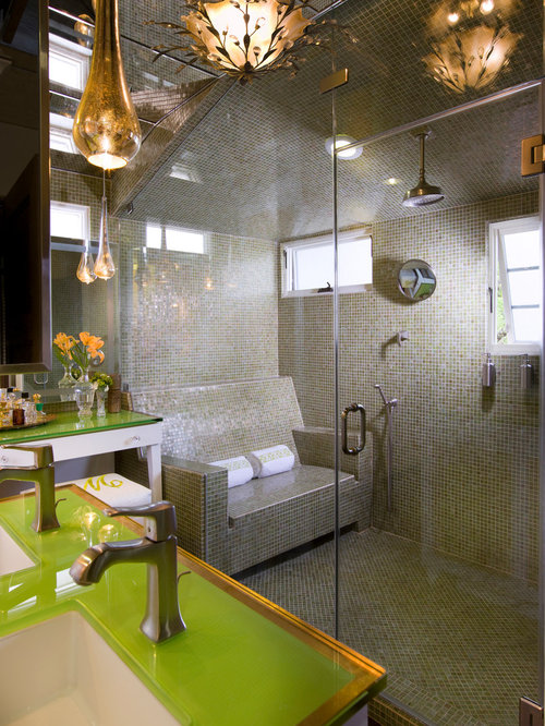 Steam Shower Window Home Design Ideas, Pictures, Remodel and Decor