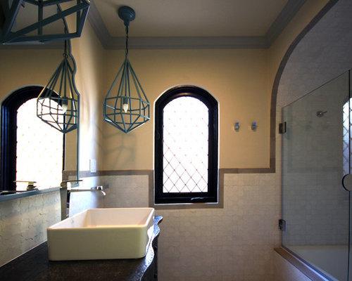 Vasca Da Bagno Di Zinco : Bagno con top in zinco e consolle stile comò foto idee arredamento