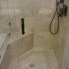 Traditional Bathroom by Tile & Stone Design Center