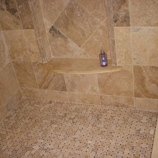 Traditional Bathroom by Galaxy Tile of Princeton