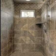 Mediterranean Bathroom by Gage's Granite
