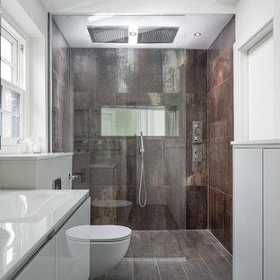Shower Room - Lamiera T & Betonwood Mud