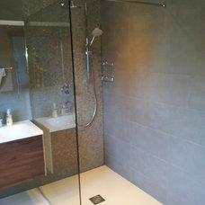 Contemporary Bathroom by Studio 3 kitchens