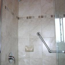 Bathroom by Caledon Tile Bath & Kitchen Centre