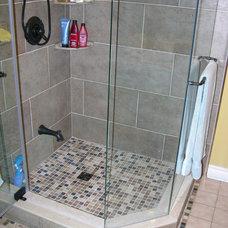 Contemporary Bathroom by Caledon Tile Bath & Kitchen Centre