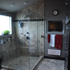 contemporary bathroom by Triton Stone