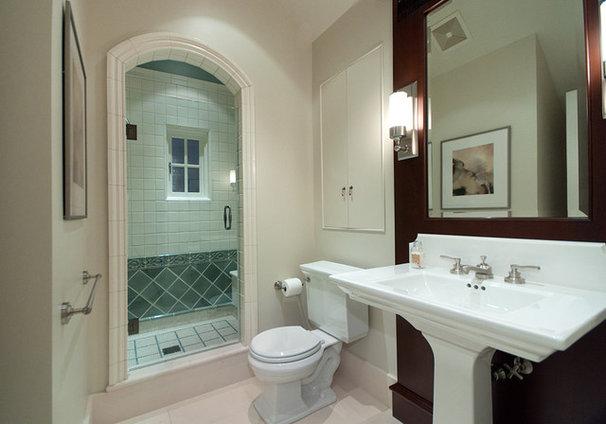 Traditional Bathroom by World Mosaic (BC) Ltd.