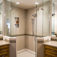 Traditional Bathroom by All Tile