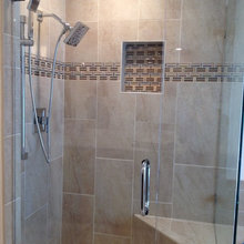 Contemporary Shower Wall Tile Ideas
