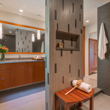 Contemporary Bathroom by Bristol Design and Construction LLC