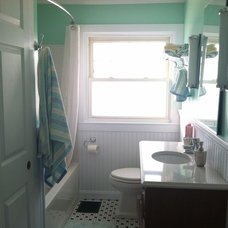 Farmhouse Bathroom by The Kitchen Place
