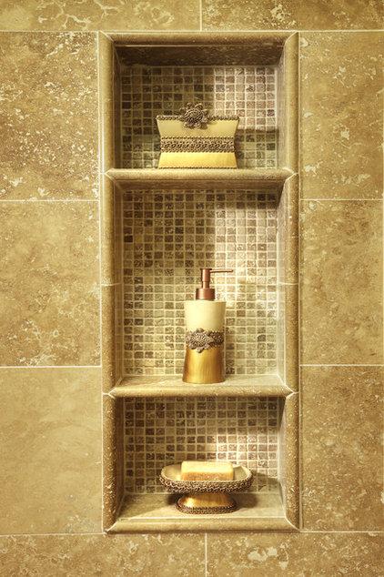 Traditional Bathroom by Katherine Kawaguchi