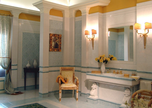 Traditional Bathroom by Siena Marble & Tile