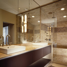 contemporary bathroom by Thomas Roszak Architecture, LLC