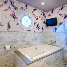 Contemporary Bathroom by Tracie Butler Interior Design