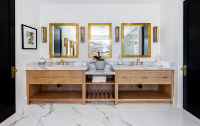 How to Know if an Open Bathroom Vanity Is for You