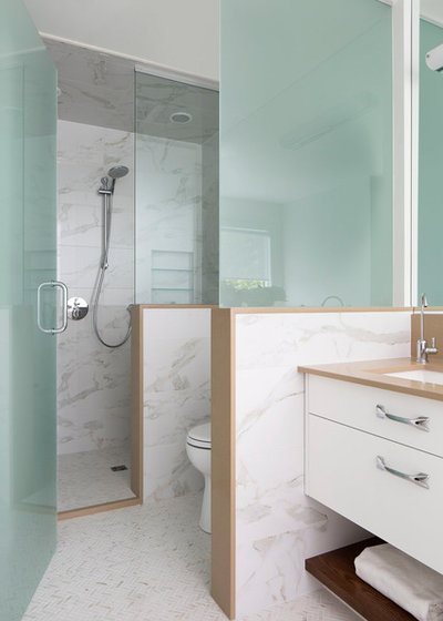 Contemporain Salle de Bain by LD&A