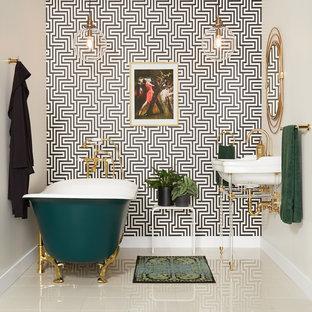 Bathroom - eclectic bathroom idea in Cincinnati
