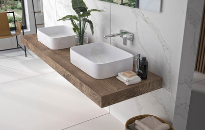 5 Ways to Liven Up a White Bathroom