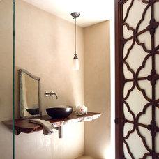 Contemporary Bathroom by Staprans Design