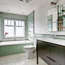 Contemporary Bathroom by Design Vidal