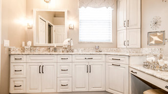 Silver Palm Traditional Master Bath