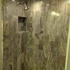 Modern Bathroom by Ensotile - Atlanta Bathroom Remodeling