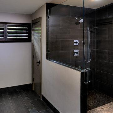 Silver Street Shutters Installation in Master Bath