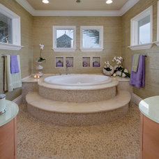 Tropical Bathroom by Silver Sea Homes