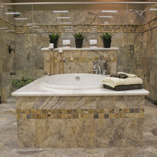 Mediterranean Bathroom by Natural Stone Gallery
