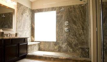 Silver Travertine Shower