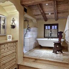 Eclectic Bathroom by Tamm-Marlowe Design Studio
