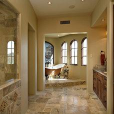 Traditional Bathroom by Fisher Custom Homes