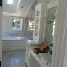 Traditional Bathroom by VZ Construction