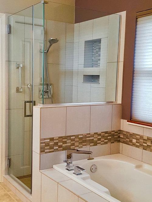 Foto e idee per bagni con pavimento in vinile for Piastrelle in vinile