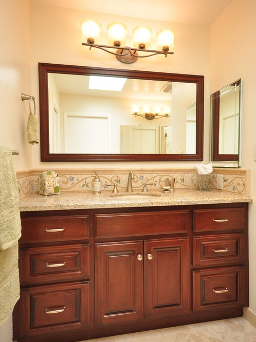 Bathroom Night Light Ideas : Mirrored backsplash ideas pictures remodel and decor