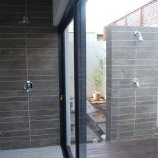 Contemporary Bathroom by Moos Design Studio