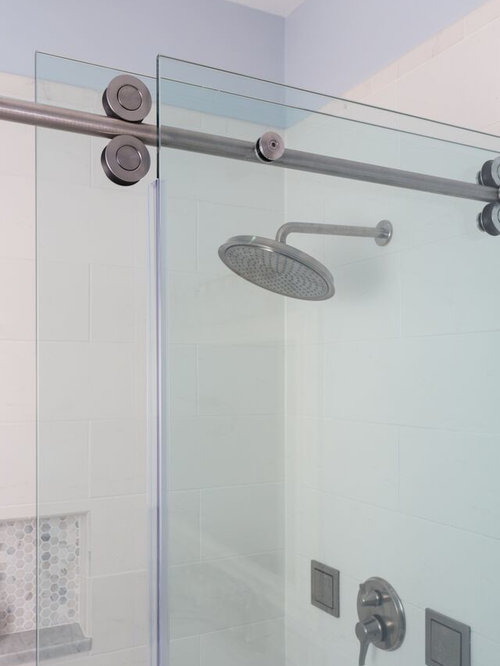 Simple Bathroom Renovation With Walk-in Shower
