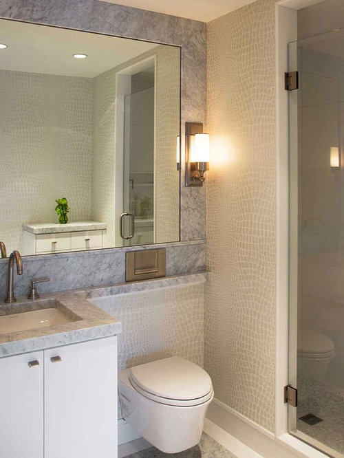 Adjoining bathroom home design ideas pictures remodel for Adjoining wall