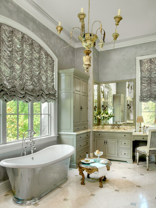 Houzz Grey And Green Bathroom Design Ideas Amp Remodel