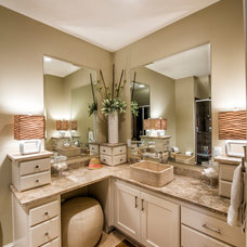 Traditional Bathroom by Cabinet Concepts by Design
