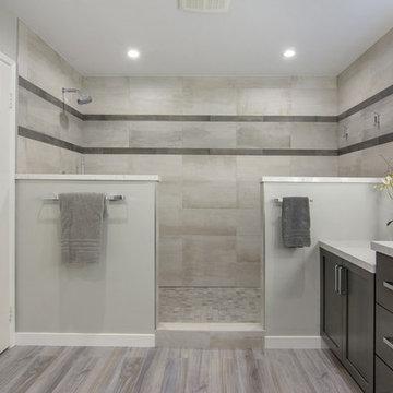Simply Calming Master Bathroom
